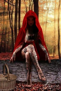 Little Red - My oh my, how wicked thou art...