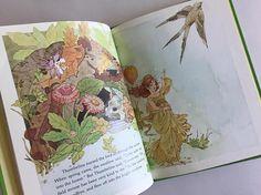 1979 Thumbelina Storybook Hans Christian Andersen Illustrated