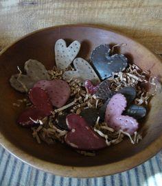 Hearts Salt Dough Bowl Fillers