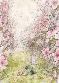 çizgili masallar: In The Bushes of Wild Rosemary by Vasilisa Koverzneva