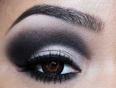 Naturally Erratic: A Makeup Blog: Black and White Makeup