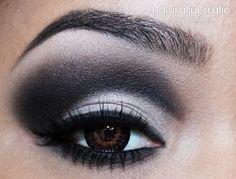 Naturally Erratic: A Makeup Blog: Black and White Makeup