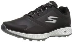 Made from synthetic these womens go golf performance elite 2 tour golf shoes by Skechers are lightweight and feature responsive cushioning! Best Golf Shoes, Spikeless Golf Shoes, Best Shoes For Men, Womens Golf Shoes, Callaway Golf Shoes, Skechers Performance, Golf Shop, Waterproof Shoes, Golf Fashion
