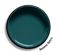 Resene Retro is a modern mix of blue and green. From the Resene Multifinish colour collection. Resene Colours, Interior Paint Colors, Paint Colours, Interior Cladding, Colored Ceiling, Ceiling Color, Ayers Rock, Dark House, Colors