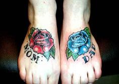 Looking for unique traditional old school tattoos tattoos mom and dad roses Small Face Tattoos, Hip Tattoo Small, Rose Tattoos For Men, Tattoo Quotes For Women, Leg Tattoos Women, Small Forearm Tattoos, Small Tattoos For Guys, Tattoos For Kids, Taurus Tattoos