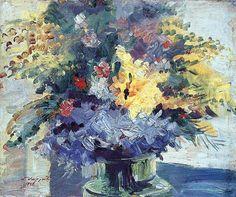 Vincent van Gogh — artist-sarian: Bouquet of flowers, 1945,...