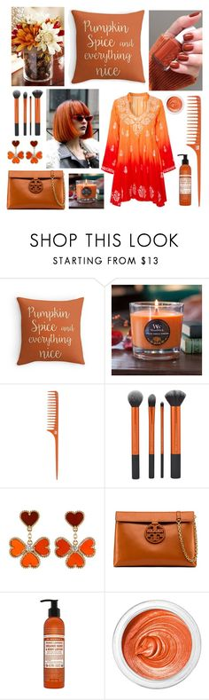 """Pumpkin Spice"" by mstrendy01 ❤ liked on Polyvore featuring WoodWick, ASAP, Van Cleef & Arpels, Tory Burch, Dr. Bronner's, 3ina, Juliet Dunn and pumpkinspice"