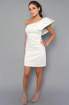 love one shoulder dresses