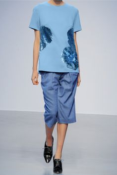 Richard Nicoll | Sequin-embellished stretch-crepe top | NET-A-PORTER.COM