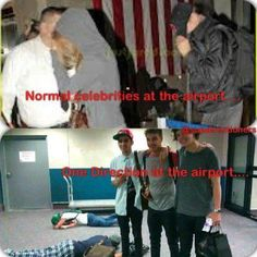 Haha gotta love the boys...but is Niall okay? He's just laying there face down in the background!