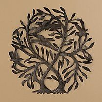 Double Tree of Life Wall Sculpture