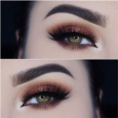 I love this pretty eye makeup look!