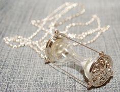 Hourglass Pendant