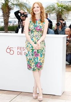 Jessica Chastain at Cannes 2012