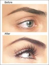 Eyelash Extensions - Before & After! Come To Skinthetics Laser Hair Removal & Skin Care Center in West Bloomfield, MI for all of your personal pampering needs! Call (248) 855-6668 to schedule an appointment or to find out more information!