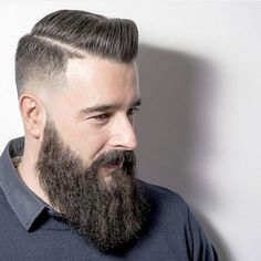 Gallery Of Excellent Short Beard Styles Pictures for Your Haircut Model and Trends. Faded Beard Styles, Long Beard Styles, Beard Styles For Men, Hair And Beard Styles, Long Hair Styles, Beard Fade, Full Beard, Men Beard, Bart Styles