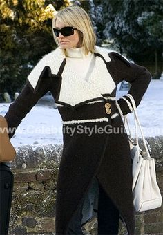 The moment I saw this coat Cameron Diaz was wearing on The Holiday, I wanted it!! I would love to own this! :)