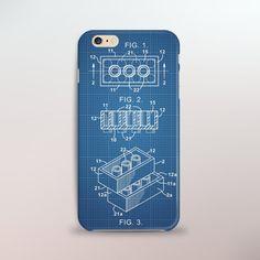 Lego Brick Patent iPhone Case  Blue Print Awesome Lego, Cool Lego, Iphone 6 Covers, Iphone Cases, Brick Design, Cool Cases, Lego Brick, Legos, Making Out