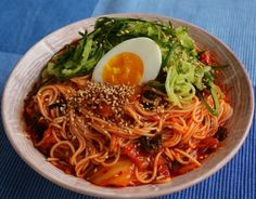 Korean food photo: Bibimguksu - Maangchi.com