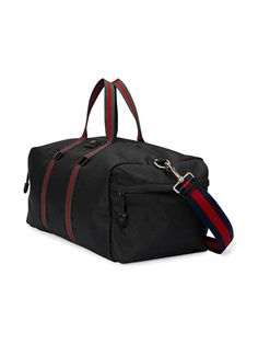 dacdac8188 Gucci Technical Canvas Duffle - Farfetch Duffel Bag