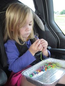 Creating Homemade Happiness While Raising Homegrown Girls: Ideas for Road Trips with Toddlers