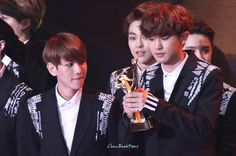 Chanyeol and Baekhyun | 150115 29th Golden Disk Awards in Beijing