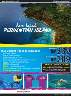 pakej pulau perhentian murah Breakfast Specials, Snorkeling, Special Gifts, Islands, Boat, Night, Life, Diving, Dinghy
