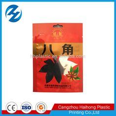 Moisture proof high quality three side sealing aluminum foil seasoning bag