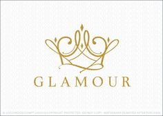 Logo Sold: Crown logo designed with simple swirling looping lines that swirl around to create outline of a royal crown. The line varies from think to thin to create an stylish and natural flowing design.