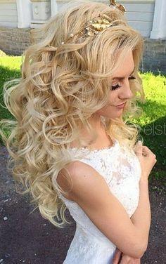 Elstile wedding hairstyles for long hair 56 - Deer Pearl Flowers / http://www.deerpearlflowers.com/wedding-hairstyle-inspiration/elstile-wedding-hairstyles-for-long-hair-56/