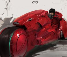 "comicsforever: Kaneda // artwork by Tham Hoi Mun From Katsuhiro Otomo's magnum opus ""Akira"" Bd Comics, Anime Comics, Studio Ghibli, Science Fiction, Pulp Fiction, Akira Manga, Manga Anime, Anime Art, Trolls"