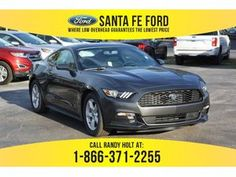 2017 Magnetic Metallic Ford Mustang V6 378532 2017 Ford Mustang, Santa Fe, Metallic