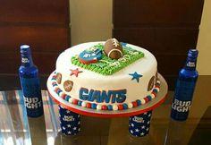 Cake de los NY Giants