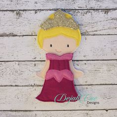 Aurora Outfit for 5x7 nonpaper doll