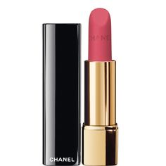 ROUGE ALLURE VELVET LUMINOUS MATTE LIP COLOUR (34 LA RAFFINÉE) - My perfect pink! I think this would look good on anyone! I GOT IT AND I LOVE IT!