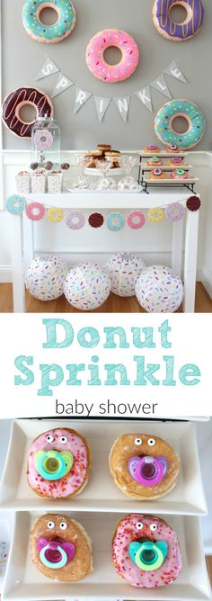 Donut Sprinkle Baby Shower Ideas