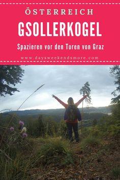 Spazieren im Grazer Bergland - Waldschenke, Wildgehege & Gsollerkogel Hallstatt, Austria, Outdoor, Cards, Movie Posters, Beautiful, Europe, Game Reserve, Round Trip