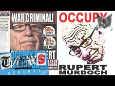 Occupy Rupert Murdoch & the Media Billionaires - Russell Brand Trews Reports (E13) - YouTube