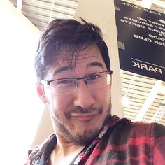 From comic con 2014 - Markiplier <3 Puttin' on his handsome face :P