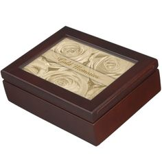 Rose Memories Golden Anniversary Memory Box by Sand Creek Ventures
