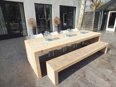 Outdoor furniture. 16 seater