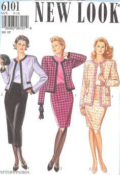 New Look 6101 #sewingpatterns
