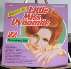 Brenda Lee Lp Little Miss Dynamite Very Good #AlternativeCountryAmericanaContemporaryCountryCountryPopEarlyCountryNashvilleSoundTraditionalCountry