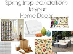 Spring Inspired decor | whimsical decor | iamahomemaker.com