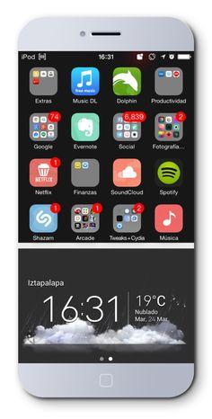 Grey iOS 8