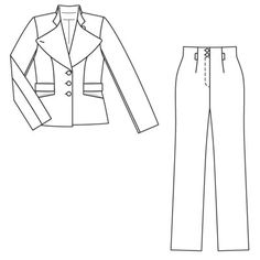 Claire Schaeffer Patterns | Paulette talked me into taking a Couture Jacket class at our local ...