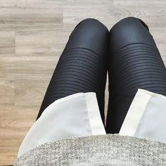 leather leggings // women's fashion, leggings, faux leather