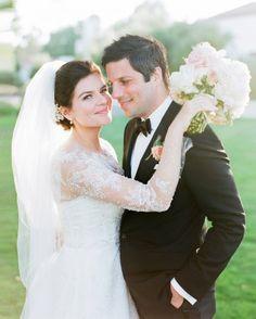 Casey Wilson and David Caspe's California Wedding