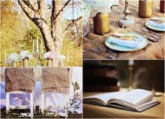 Inspiration And Ideas For A Vintage Style Wedding - Rustic Wedding ...