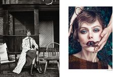 Frida Gustavsson by Boe Marion for Scandinavia S/S/A/W Spring/Summer 2014 | The Fashionography